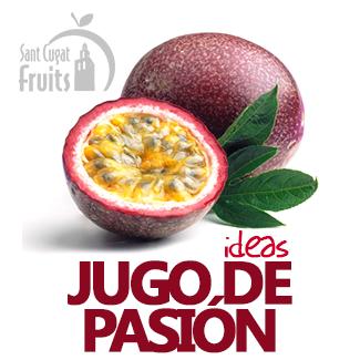 JUGO DE FRUTA DE LA PASION